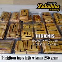 PINGGIRAN KUE LAPIS LEGIT WISMAN 250 GRAM