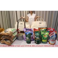 Totemo Bag / Tas Kanvas / Tote bag / Tas belanja heavy duty kapasitas