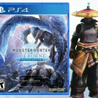 PS4 MONSTER HUNTER WORLD ICEBORNE - MASTER EDITION