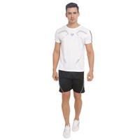 BAJU OLAHRAGA 1 SET -SPORTS T SHIRT & SHORTS - Putih, XL