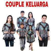 (BISA COD) Baju Batik Couple Keluarga / Atasan Batik Couple Seragam