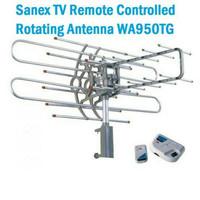 ANTENA TV DIGITAL SANEX WA-950TG BOOSTER TV & REMOTE CONTROLLED