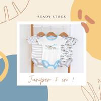 jumper bayi/jumper bayi laki-laki 3in1/jumper bayi 3pcs per set/jumper