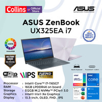 ASUS ZENBOOK 13 OLED UX325EA I7-1165G7 16G 512GB 13.3FHD OLED W10 OHS