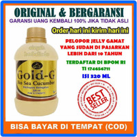 TERMURAH JELLY JELY JELI GAMAT GOLD G GOLJI 320ML ORIGINAL 100%