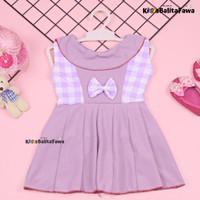 Dress Najwa uk Bayi 3-12 Bulan / Dres Cantika Yukensi Baju Anak Cewek