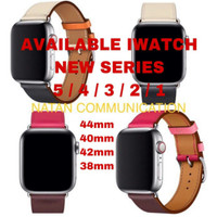 STRAP APPLE WATCH HERMES IWATCH SE 6 5 4 3 HERMES LEATHER