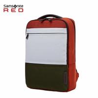 Samsonite Red calvad Backpack Brick Laptop 14.1 inch , Orange