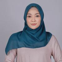 Zoya Krisi Fancy Plain Scarf - Hijab Kerudung Segi Empat