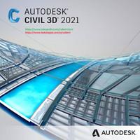 Autodesk AutoCAD Civil 3D 2021 + Addon include Flashdisk 16GB