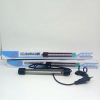 Rosston T4 20 - Lampu LED Aquarium Celup T4 20cm warna Putih Biru