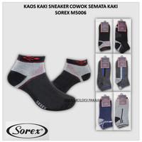Kaos Kaki Sneaker Pria Dewasa Pendek Se-Mata Kaki Adem Sorex M5006