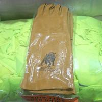 sarung tangan las kulit black bull 16 inch