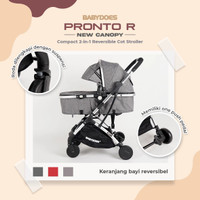 Stroller Babydoes Pronto R / Cabin Size Reversible