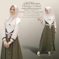 Baju Gamis Wanita Terbaru Maira Syar'i asdf Remaja Modern Kekinian