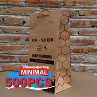 Paper bag butik/Tas kertas custom design