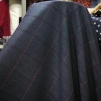 Kain Blazer/Celana Semi Wool Motif Kotak _ Bahan Semi Wool Motif Kotak - No.19