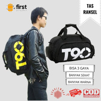FIRST PROJECT - Duffle Gym Fitness Backpack Bag Tas Pria Model T90
