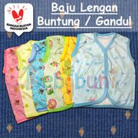 Baju Pakaian Bayi Newborn Tanpa Lengan Buntung Gandul Kutung