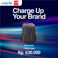 PHANTOM Smart Anti Theft Backpack for Merchandise