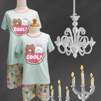 Baju Tidur Anak Perempuan Anne Claire (Line Cool) St. Lgn Pdk Cln Pdk