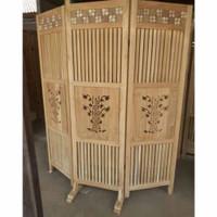 penyekat ruangan minimalis modern sketsel murah kayu jati solid