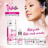 Yoshita paket glowing pemutih wajah plus Collagen