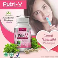 PUTRI - V asli obat herbal dapat menyuburkan kandungan wanita