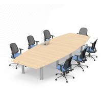 Meja Rapat Kantor / Meja Meeting Kantor 6-8 Orang / MEDAN SUMUT