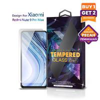 Tempered Glass Xiaomi Redmi Note 9 Pro Max Clear Transparan