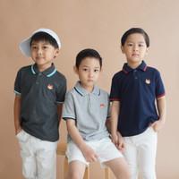 Polo Shirt Anak Warna Misty Muda Usia 1-9Tahun| P015 by Little Jergio