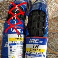 Ban Semi Trail IRC Honda win R17x300 kualitas bagus