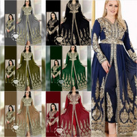gamis maxi dress pesta india - setelan celana bordir - baju india