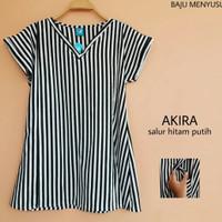 MAMIGAYA Baju Kaos Atasan Menyusui Akira Motif