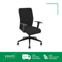 Kursi Kerja / Kantor / Belajar VINOTI Office OPTIMUS V8 II LB Hitam