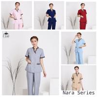 Baju suster batik Nara series / seragam suster / baby sitter
