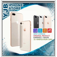 Apple iPhone 8 Plus 256GB NEW Garansi 1 Tahun ALL OPERATOR