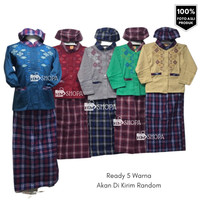 Baju Koko Sarkoci Anak Baju Muslim ngaji lebaran Usia 2 - 10 tahun