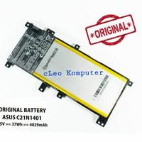 Baterai asus a455l a455la x455 x455l x455la x454y x454w C21N1401 ORI