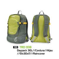 Tas Ransel Daypack 30L Model Eiger Consina Ada Raincover & Slot Laptop