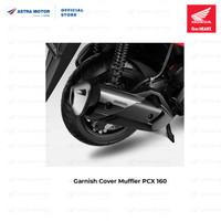 Garnish Cover Muffler (Hiasan Tutup Knalpot) Honda PCX 160 08F88K1ZG00