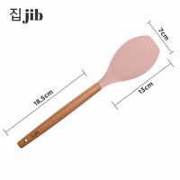 JIB Silicone Cooking Spoon / Utensile Silicon / Sendok Masak Silikon