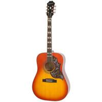 Gitar Akustik Elektrik Epiphone Hummingbird Pro Faded Cherry Sunburst