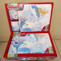 Baby Set 3in1 Handuk bayi + sapu tangan + celemek Original SNI