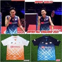 Jersey baju badminton yonex All England import - M