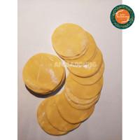 Kulit Dimsum Gyoza Siomay Pangsit BULAT Kuning 250gr Diameter 8 cm