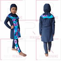 Baju Renang Muslim Anak Perempuan Celana Kerudung