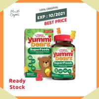 Yummi Bears SuperFoods Fruits + Veggies 90 Gummies