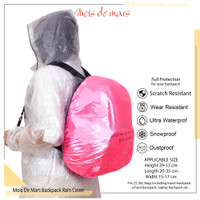 Cover Tas Ransel anti air MOIS DE MARS Rain Cover waterproof for Bag