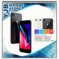 APPLE IPHONE 8 64GB BARU SEGEL GSM FU GARANSI 1 TAHUN ALL PROVIDER - GOLD, 64GB